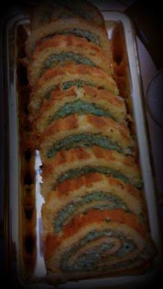 Aperitivo de queso azul, rúcula y nueces