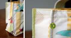 Tutorial: Totes Big and Small   Craft Buds