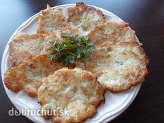 Fotorecept: Karfiolové placky Slovak Recipes, Russian Recipes, Vegetable Recipes, Cauliflower, Menu, Favorite Recipes, Dinner, Vegetables, Fit