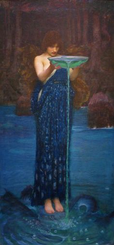 John William Waterhouse Circe Invidiosa painting for sale, this painting is available as handmade reproduction. Shop for John William Waterhouse Circe Invidiosa painting and frame at a discount of off. John William Waterhouse, Pre Raphaelite Brotherhood, Illustration Art, Illustrations, Oeuvre D'art, Les Oeuvres, Art History, Art Photography, Art Gallery