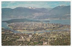 Postcards - Canada # 71 - Vancouver, British Columbia