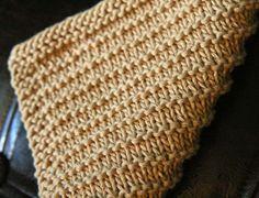 Knitting Pattern PDF Dishcloth Corduroy