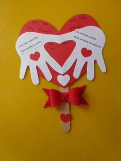carte fête des pères - Post Tutorial and Ideas Valentine's Day Crafts For Kids, Valentine Crafts For Kids, Sunday School Crafts, Fathers Day Crafts, Saint Valentine, Valentine Day Crafts, Toddler Crafts, Preschool Crafts, Valentine Cards