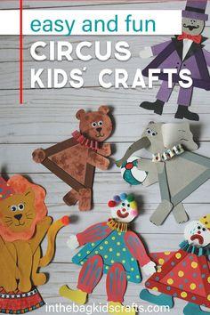 Diy Crafts For Kids Easy, Paper Plate Crafts For Kids, Animal Crafts For Kids, Craft Projects For Kids, Craft Activities For Kids, Craft Stick Crafts, Preschool Crafts, Craft Kids, Rock Crafts