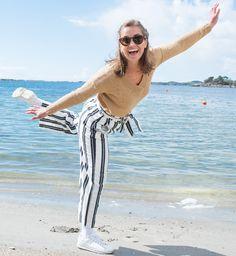 Green Kaitlyn genser  Cream  Strikkejakker & -gensere - Dameklær er billig