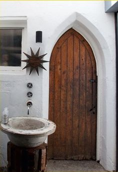 Door in Cape Town, Church converted to home the Netherlands