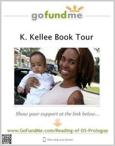 K. Kellee Book Tour Needs Your Help