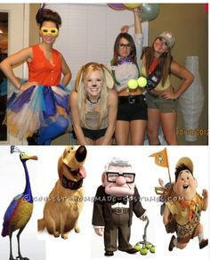 Up group costume from coolest homemade costumes