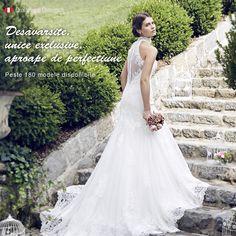 Se spune ca femeile care aleg o rochie de mireasa romantica sunt iubitoare de frumos, sensibile si pline de buna-dispozitie.👍💝