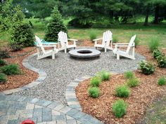 DIY Fire Pit and Seating Area: 15 Steps (with Pictures) #firepitloungeideas