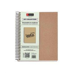 Libreta de papel reciclado - Cero Residuo - Tienda Online Zero Waste Office Supplies, Notebook, Diy, Peppermint Essential Oils, Dental Floss, Grid, Spirals, Notebooks, Bricolage