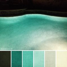 Brandi girl blog: Color Palette #175 :: Nighttime Swimming