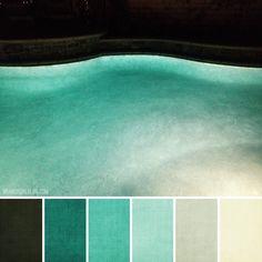 Brandi girl blog: Color Palette #175 :: Nighttime Swimming