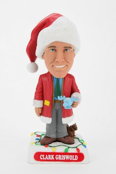 National Lampoon s Christmas Vacation Clark Griswold Bobble Head 0642fff90