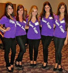 How cute would a shirt that looks like you have a pageant sash, sort of like this? Adorable idea!!!
