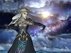 """Dark Zelda"" - Super Smash Bros. Brawl, Zelda's alternate outfit"