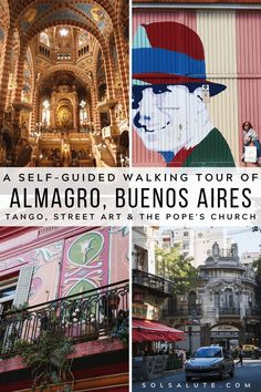 Abasto & Almagro: A Self-Guided Walking Tour Off The Beaten Path in Buenos Aires — Sol Salute – Travel Destinations South America Destinations, South America Travel, Travel Destinations, Travel Couple, Family Travel, Argentina Travel, Visit Argentina, Travel Guides, Travel Tips