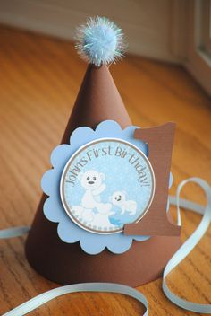 Add a great touch to your special celebration with a party hat from Michelles Party Shop!.    Each party hat is is made from coordinating colored