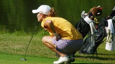 Mallory Blackwelder wearing her Haute Shot Golf Par-Tee Skort during the 2nd round of the Four Winds Invitational in South Bend, IN. http://www.golf4her.com/Haute-Shot-Golf-Skort-Par-Tee-Time-p/hsg-0005.htm | #Golf4Her