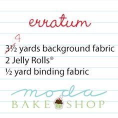 "Errata = Is this for instructions for ""Honey Honey Layer Cake Quilt"" I just pinned?"