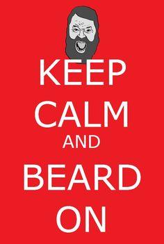 Keep Calm and Beard On. #DuckDynasty http://www.familychristian.com/video/duck-dynasty.html