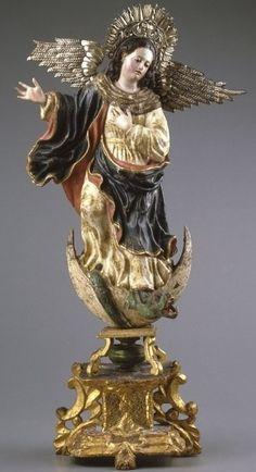 Virgen María. Quito siglo XVIII
