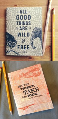 Handmade notebooks, made by us! » Want to win two notebooks? Tell us here what you would use your notebooks for. We have many styles to choose from, you can pick your favorite two! #earmarksocialgoods