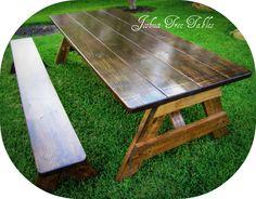 The Alamo Picnic Table | The Joshua Tree Table Company