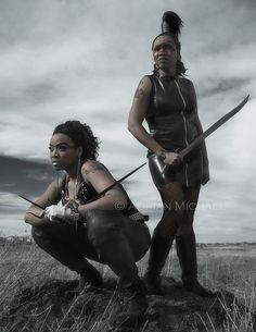 Post Apocalyptic Woman Warriors by Adrian Michael, via Flickr