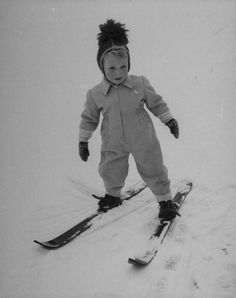 King Carl XVI Gustaf of Sweden as a toddler.
