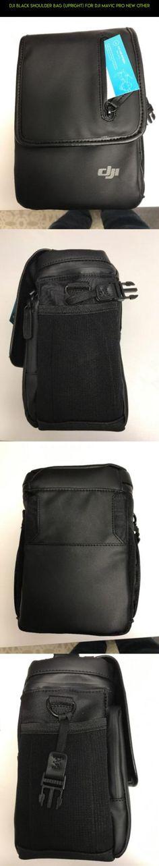 DJI Black Shoulder Bag (Upright) for DJI Mavic Pro NEW other #drone #pro #products #racing #technology #fpv #mavic #plans #gadgets #camera #kit #tech #parts #shopping #bag