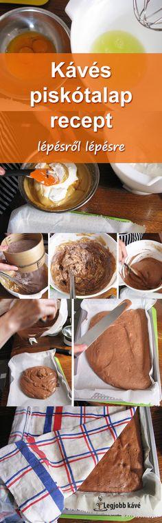 A legtöbb desszert alapja. #recept #piskóta #kávé Pisa, Breakfast, Food, Cinnamon Cake, Morning Coffee, Essen, Meals, Yemek, Eten
