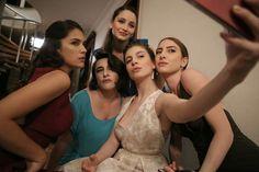 Turkish Women Beautiful, Prom Dresses, Formal Dresses, Turkish Actors, In The Heart, Actors & Actresses, It Cast, Hoodies, Film