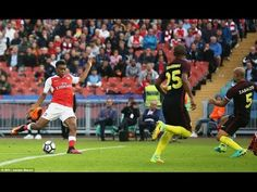 Arsenal 3 - 2 Manchester City Highlights 7 August 2016