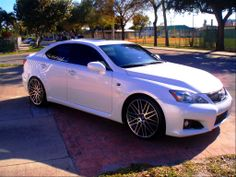 Sexy Lexus. I'll have an IS as my regular every day car in pearl white, and then a black Camaro as my weekend fun car.
