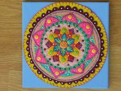 Felt Mandala Wall Art x
