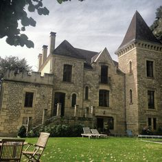 This is the Manoir de la Malartrie, my home base in the Dordogne.