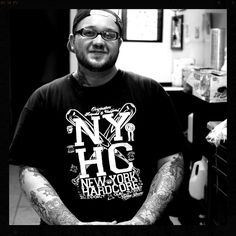 Xavier Alvarez / Out of Brooklyn New York, Xavier has been tattooing for 7 years mixing and mashing different styles together and traveling the country with multiple tattoo conventions and expos under his belt.  Whether it's a paint brush or a tattoo needle he can create something unique for you.
