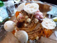 McFlurry van ganzenlever met mandarijn en VOC specerijen