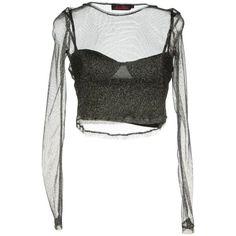 Motel Rocks T-Shirt ($52) ❤ liked on Polyvore featuring tops, shirts, long sleeves, lead, tee-shirt, shirt tops, long-sleeve shirt, long sleeve tees and round collar shirt