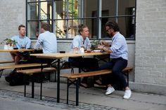Tapperiet Brus og den tilhørende restaurant Spontan serverer et stort udvalg af spontangæret øl.