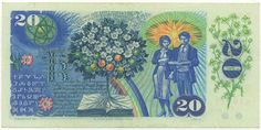 20_Kčs_1988_ RUB Coins, Banknote, History, Retro, Artwork, Painting, The World, Coining, Work Of Art