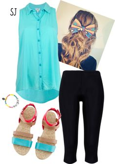 """""""Colorful Casual"""" by shutch1996 on Polyvore"""