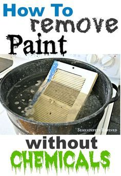 homemade paint remover homemade paint baking soda water and easy peasy. Black Bedroom Furniture Sets. Home Design Ideas
