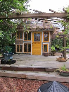 Relaxshacks.com: Salvaged Window Greenhouses, Cabins, n' Micro Structures...