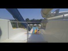 Rainbow Water slide fun ride in Lykia World Antalya Turkey