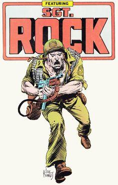 sgt rock comics at DuckDuckGo Comic Book Artists, Comic Books Art, Comic Art, Superhero Characters, Dc Comics Characters, Comic Superheroes, War Comics, Anime Comics, Vintage Comic Books