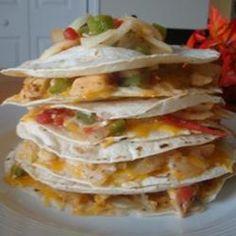 Pico de Gallo Chicken Quesadillas Allrecipes.com