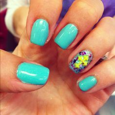 I LOVE my Easter nails!!! Cross & pastel