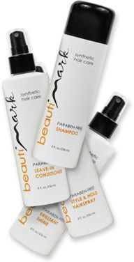 Try the BeautiMark Wig Care Kit for Synthetic Hair Wigs
